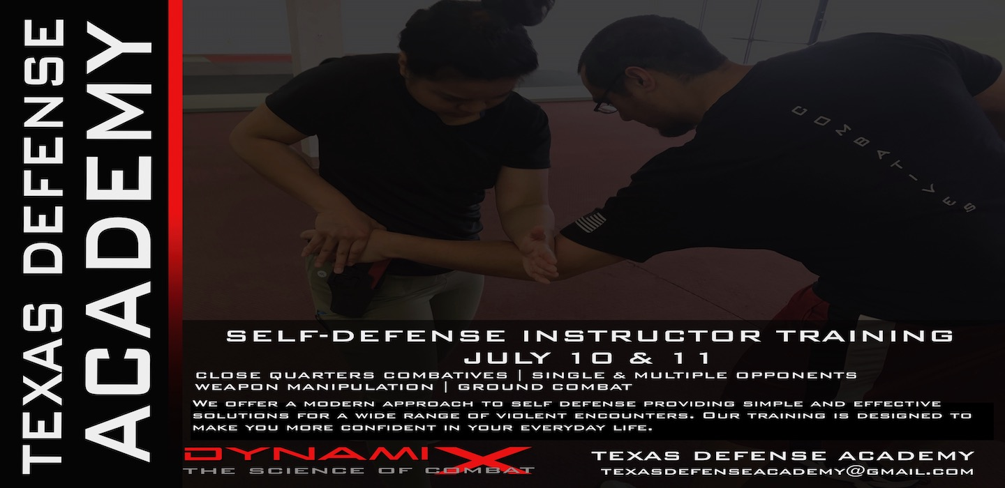 DX SELF DEFENSE INSTRUCTOR TRAINING